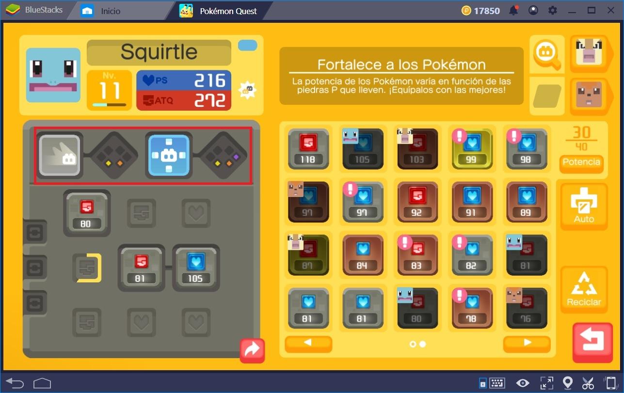 Trucos y Consejos para Pokémon Quest