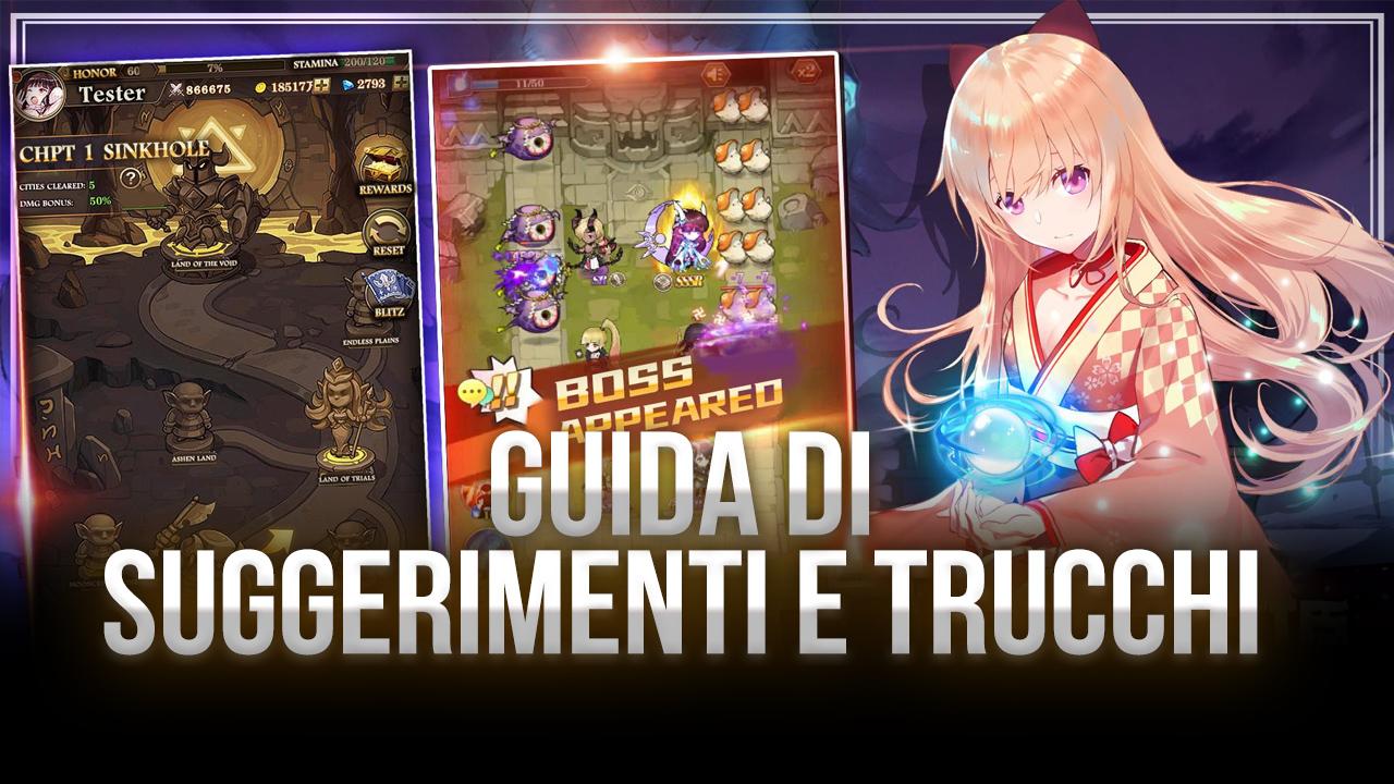 Trucchi e Consigli per le Prime ore di Final Fate TD su PC