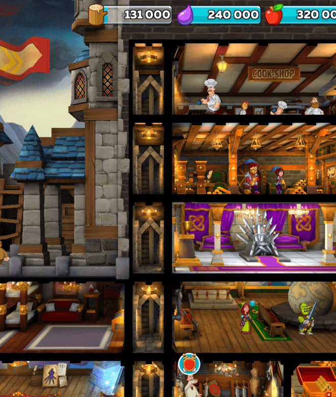 Play Hustle Castle: Fantasy Kingdom on PC 9