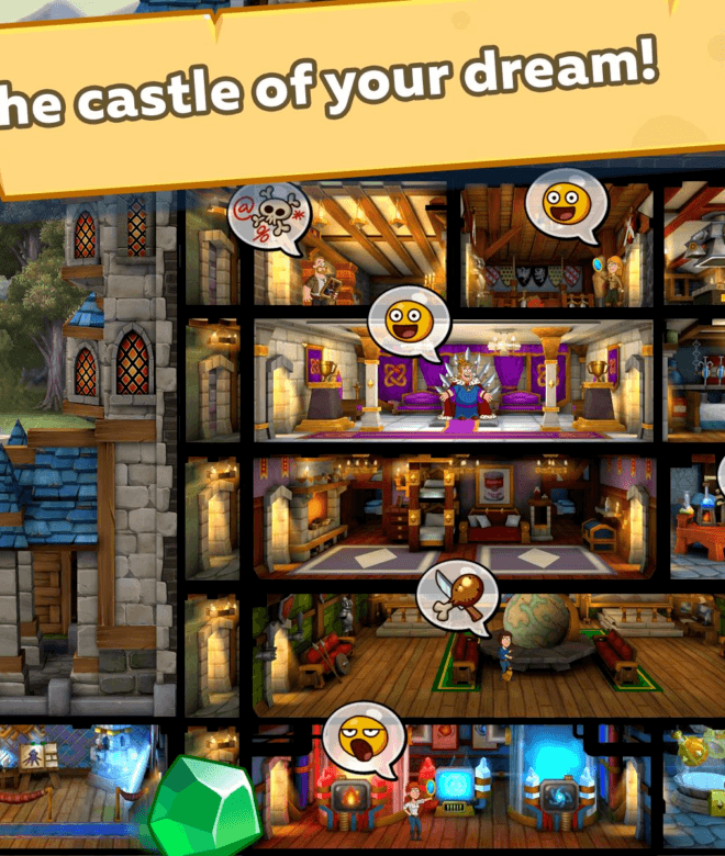 Play Hustle Castle: Fantasy Kingdom on PC 11