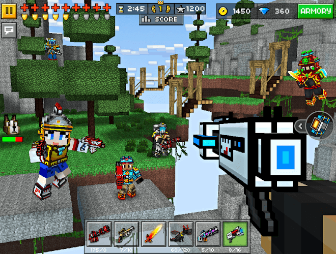Play Pixel Gun 3D on PC 7
