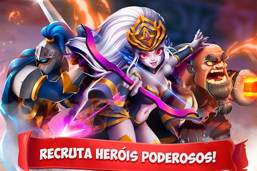 Jogue Epic Summoners: Battle Hero Warriors – Action RPG para PC 3