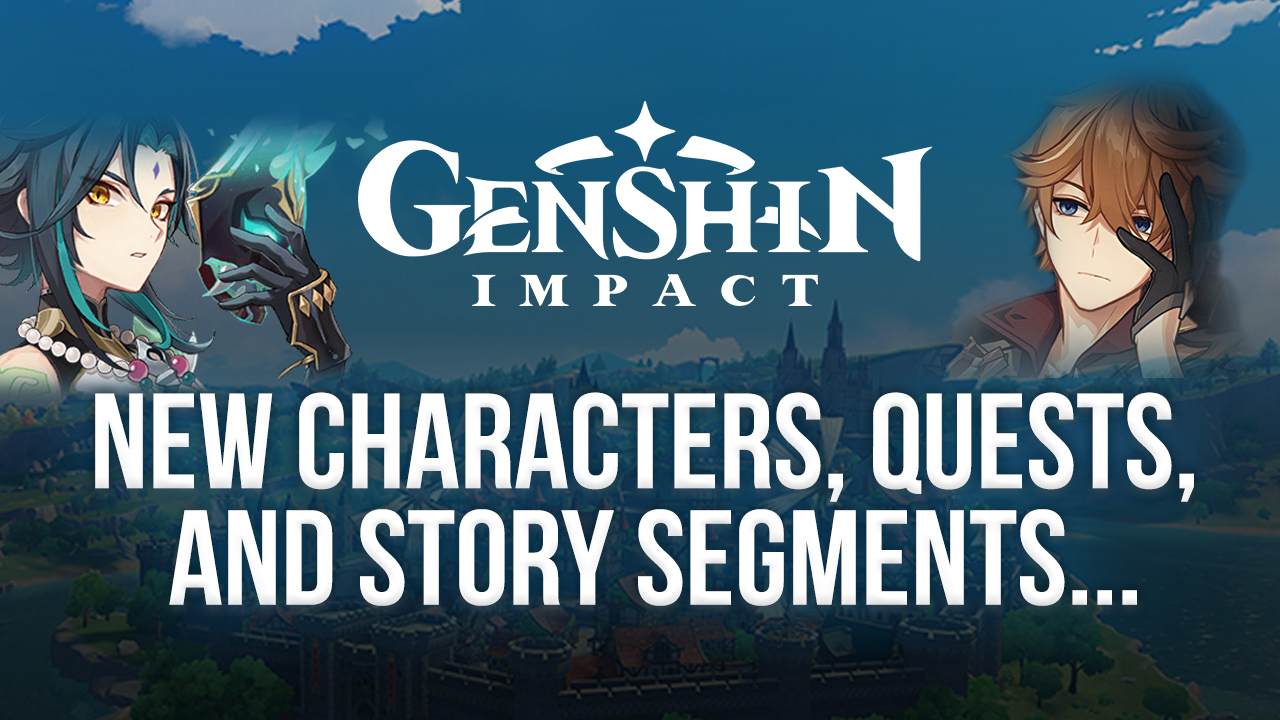 Genshin Impact 1.1 Update – New Characters, Quests, And Story Segments Coming in November