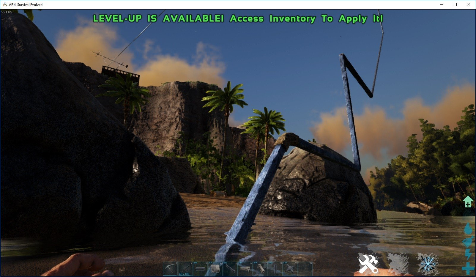 Securing Food and Water In ARK: Survival Evolved