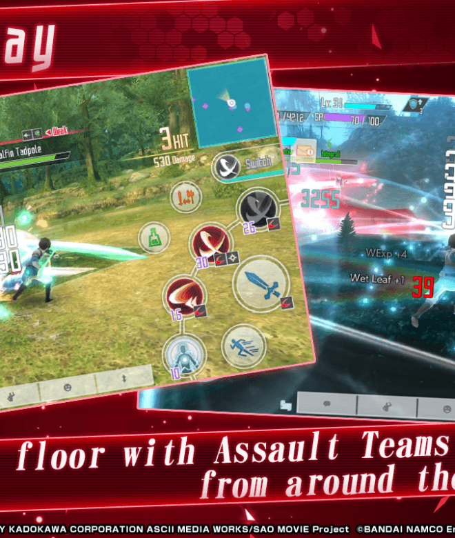 Play Sword Art Online Integral Factor on PC 5