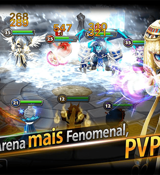 Jogue Summoners War Sky Arena para PC 8