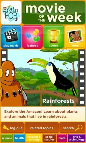 Play BrainPOP Jr. Movie of the Week on PC 2