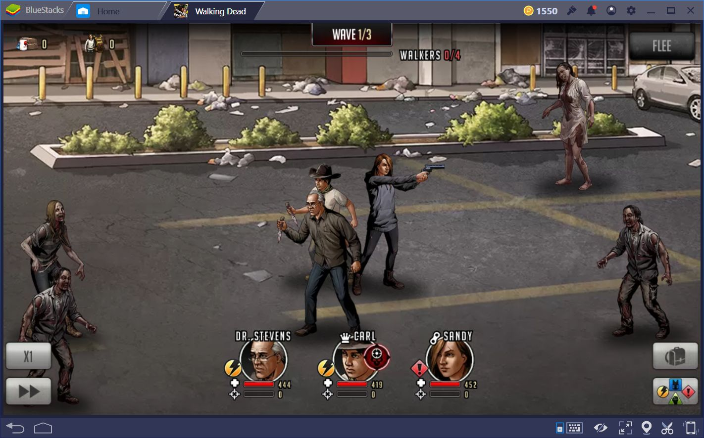 The Walking Dead: Road To Survival Research and Combat Guide