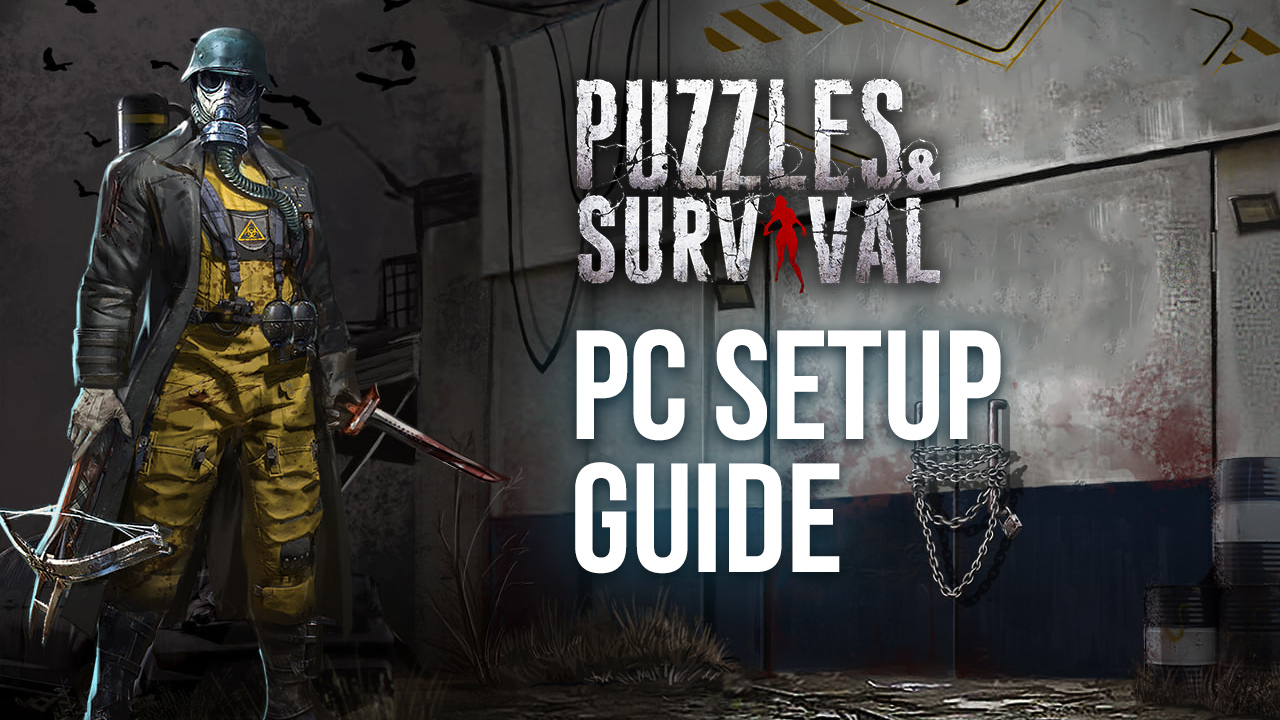 Solve to Survive – How to Play Puzzles & Survival on PC with BlueStacks