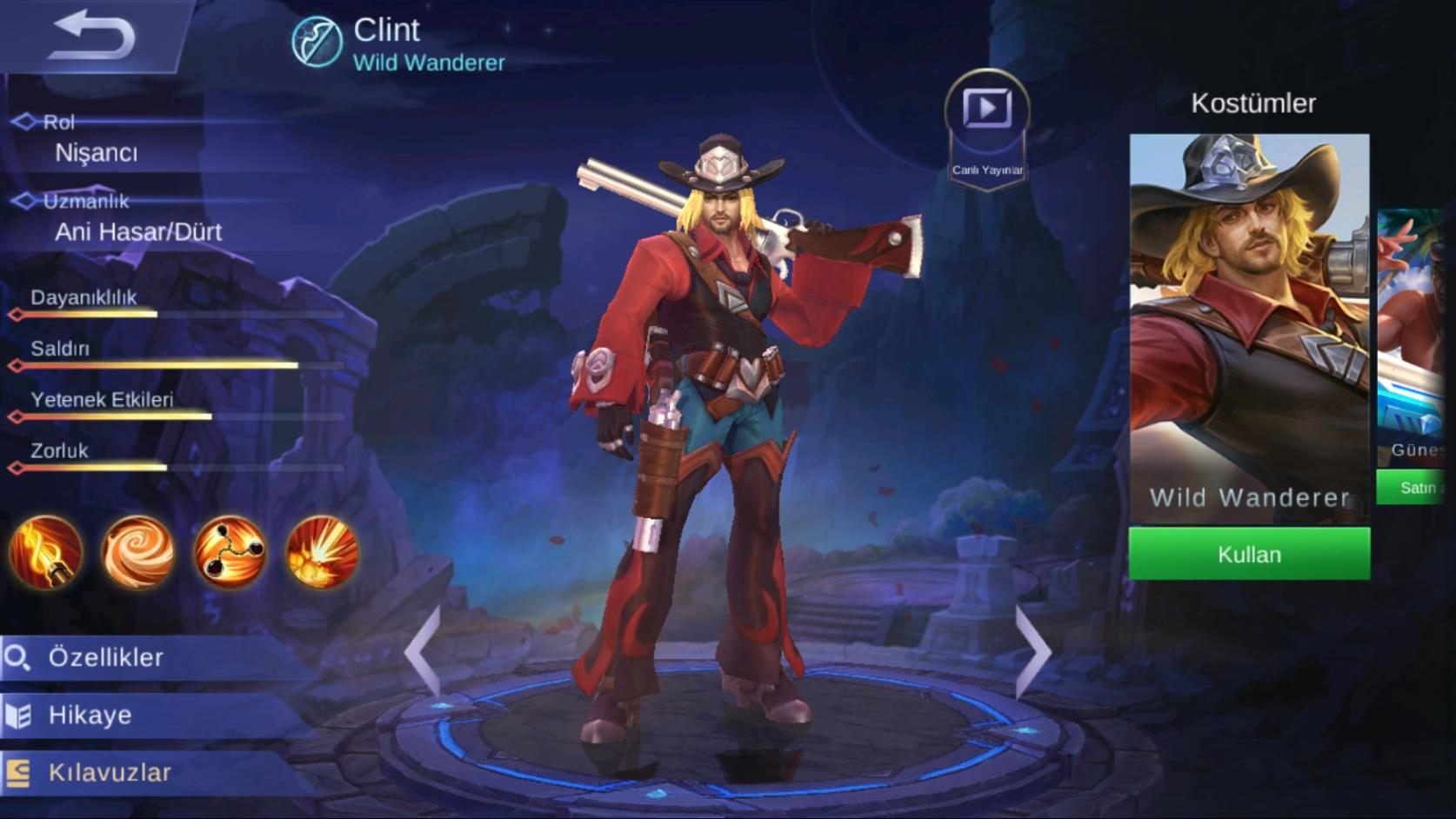 Mobile Legends Clint Tr