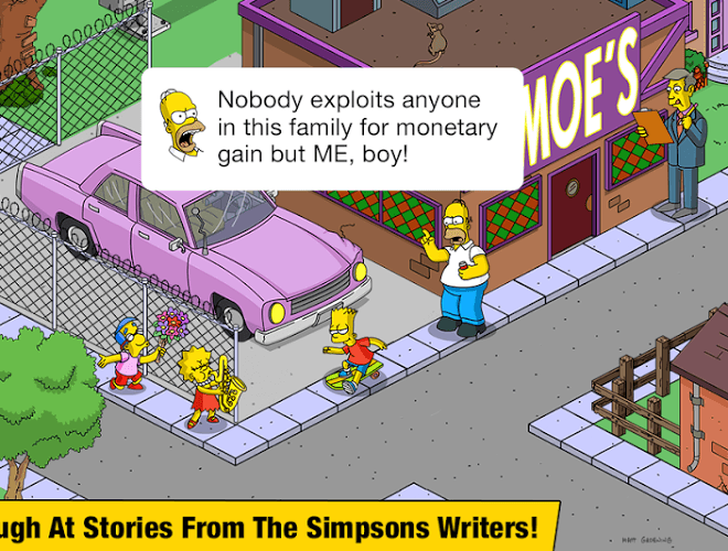 Spustit Simpsons Tapped Out on PC 12