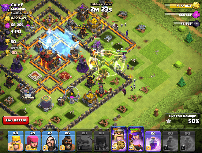 Play Clash of Clans on pc 9