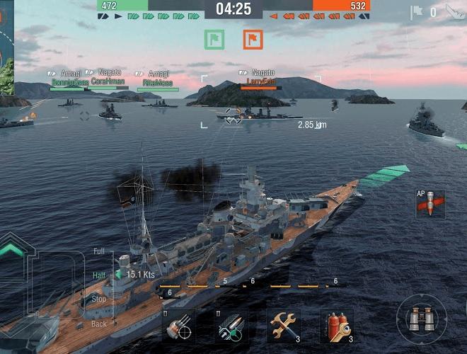Играй World of Warships Blitz На ПК 7