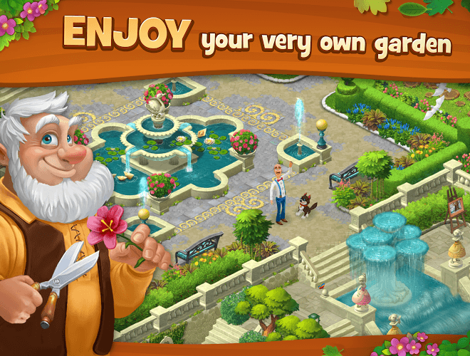เล่น Gardenscapes on PC 18