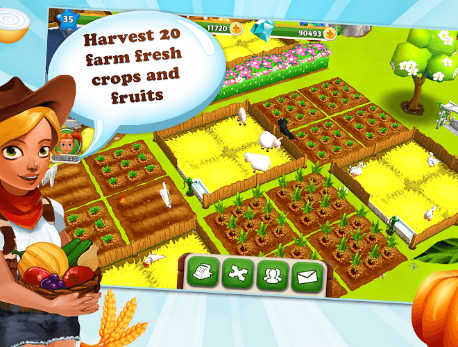 เล่น My Free Farm 2 on PC 6