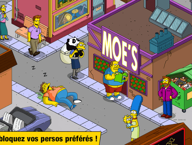 Joue Simpsons Tapped Out on pc 9