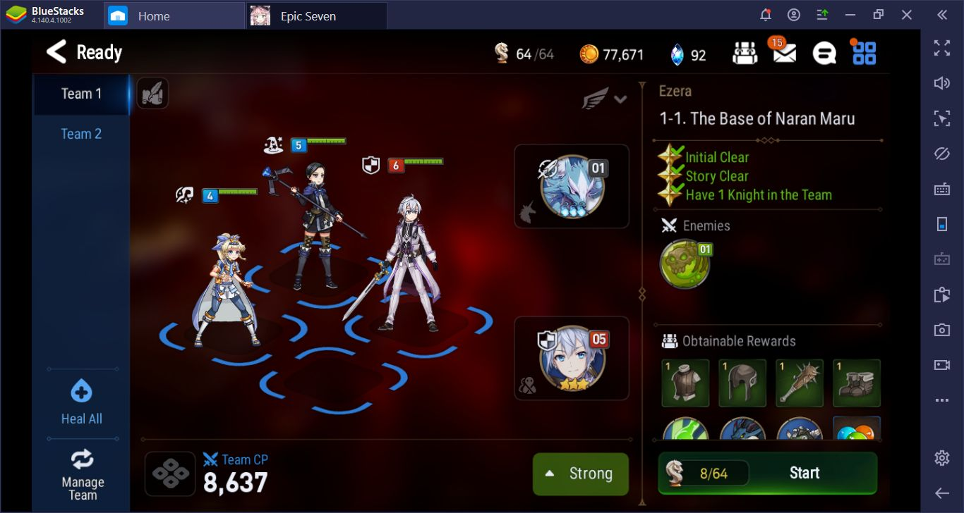 5 Reasons That Will Convince You To Start Playing Epic Seven on BlueStacks Again