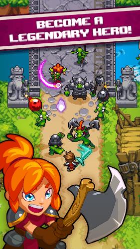 Играй Dash Quest Heroes На ПК 2