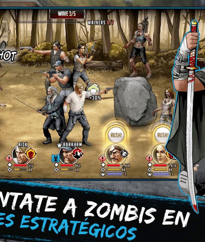 Juega The Walking Dead: Road to Survival en PC 12