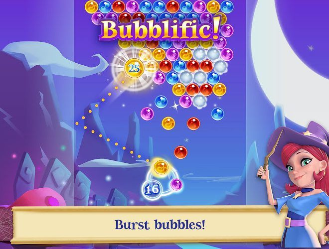 เล่น Bubble Witch Saga 2 on pc 9