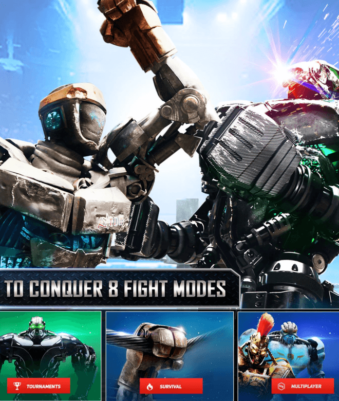 Real Steel Online Game Pc