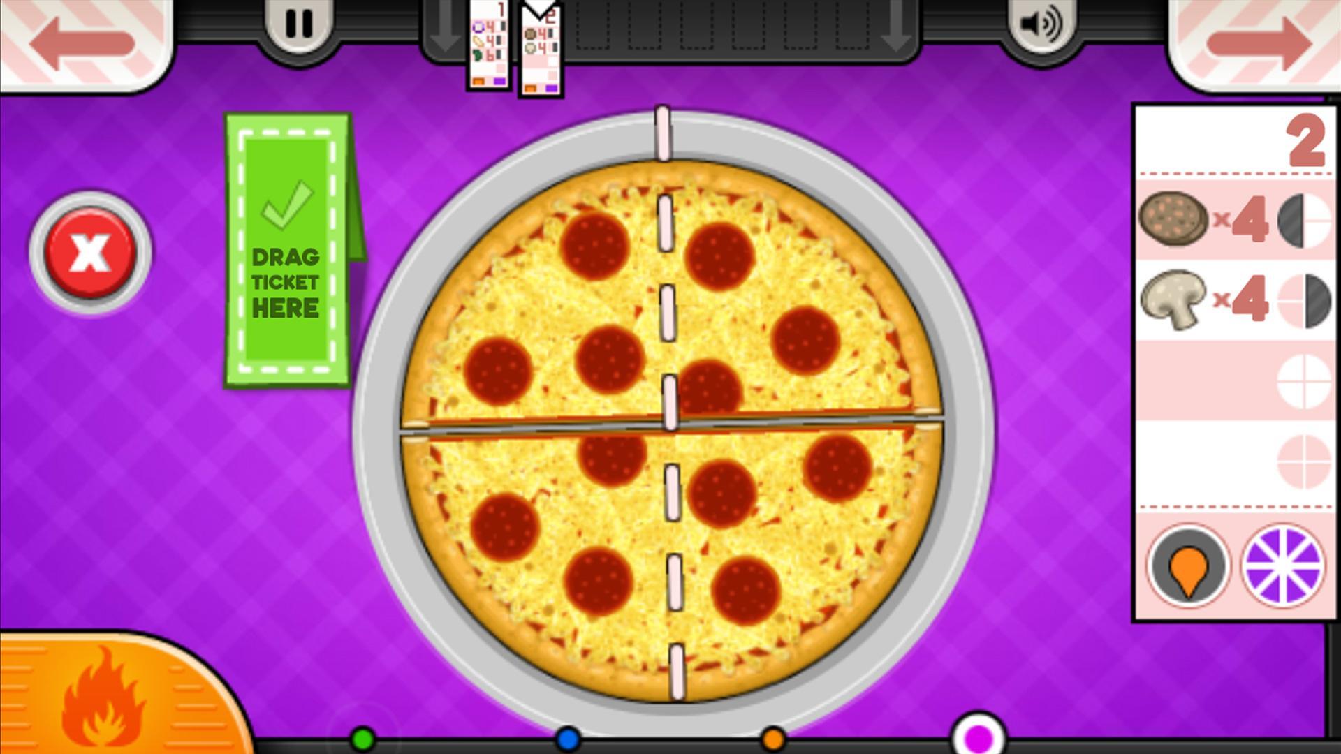 Papa Pizza Spiel