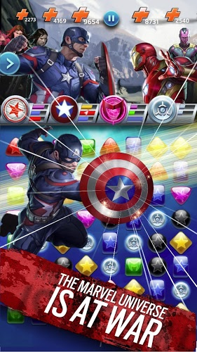 Play Marvel Puzzle Quest on PC 9