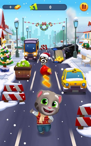 Играй Talking Tom Gold Run На ПК 7