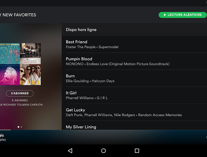 Joue Spotify android app on pc 11