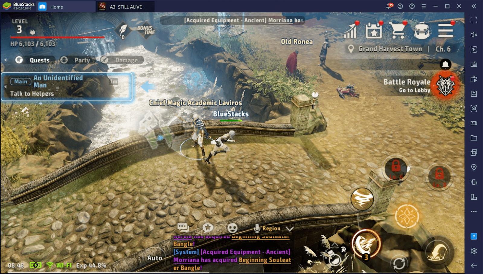 5 мобильных MMORPG с потрясающей графикой, которые можно запустить на ПК с помощью BlueStacks!