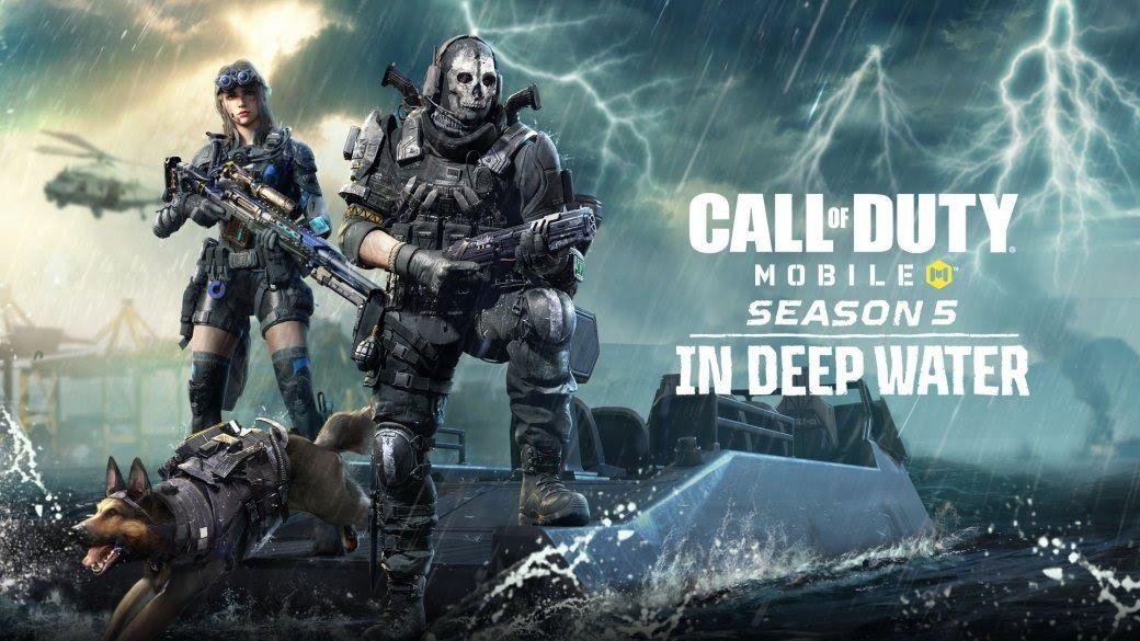 5 сезон Call of Duty: Mobile официально стартовал. Приготовьтесь к перестрелкам «На глубине»!