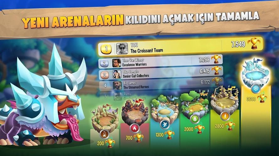 Dragon City İndirin ve PC'de Oynayın 6