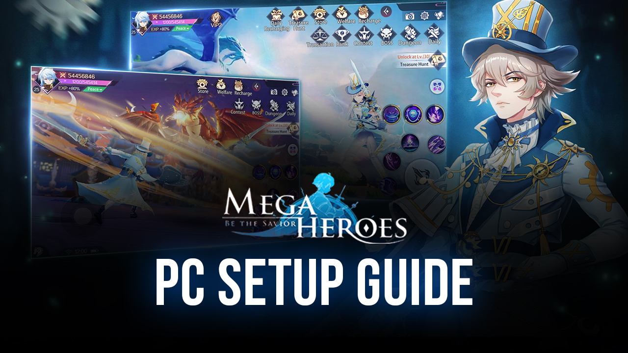 Mega Heroes – How to Play This Mobile MMORPG on PC