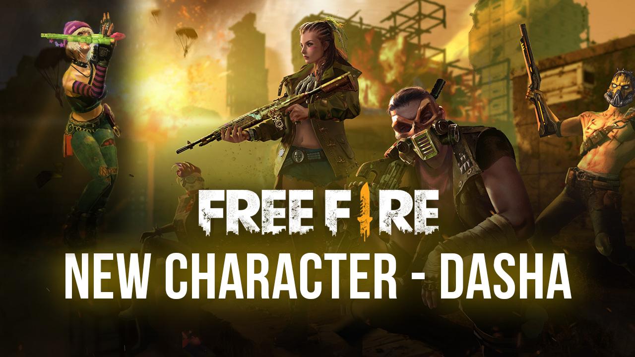 Free Fire. Все, что необходимо знать о новой героине Даше!
