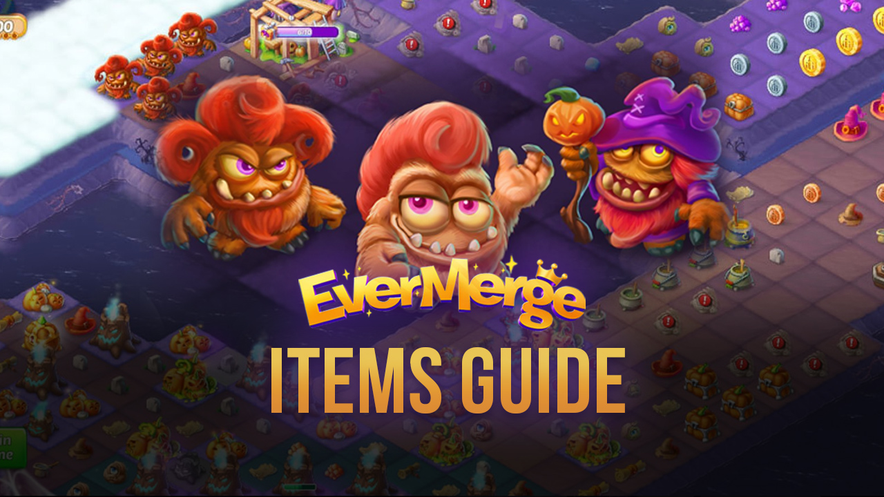EverMerge: Items Galore