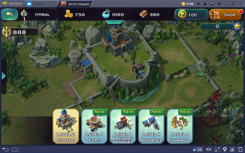Anfänger Guide für Art of Conquest