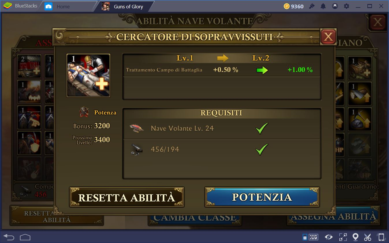 Guns of Glory: Come Gestire la Nave Volante