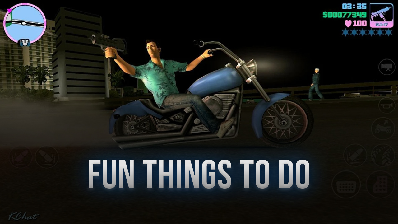 Fun Things To Do in GTA Vice City