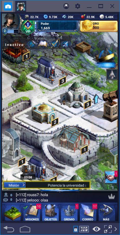 Guía de los Edificios en Final Fantasy XV: A New Empire