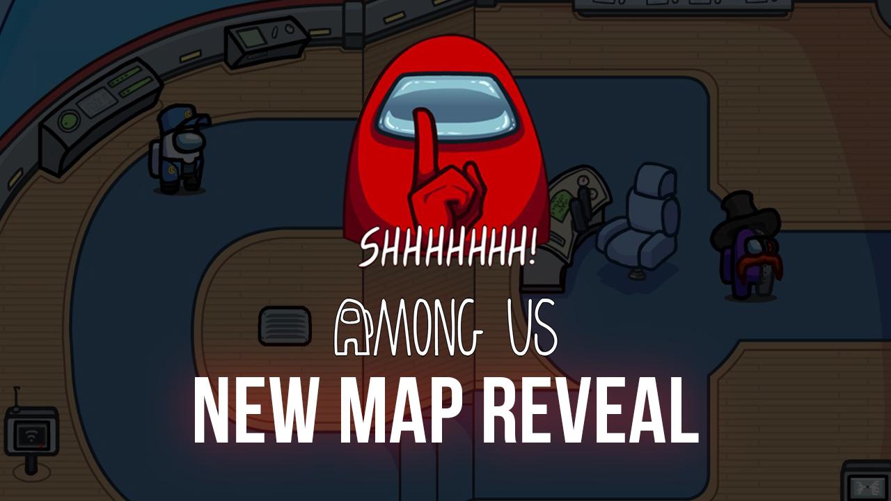 Разработчики объявили о выходе новой карты для игры Among Us!