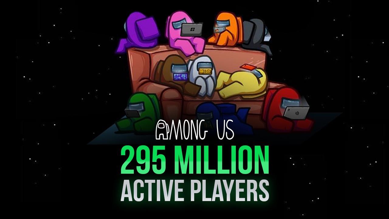 Число активных игроков в Among Us приблизилось к 300 миллионам!