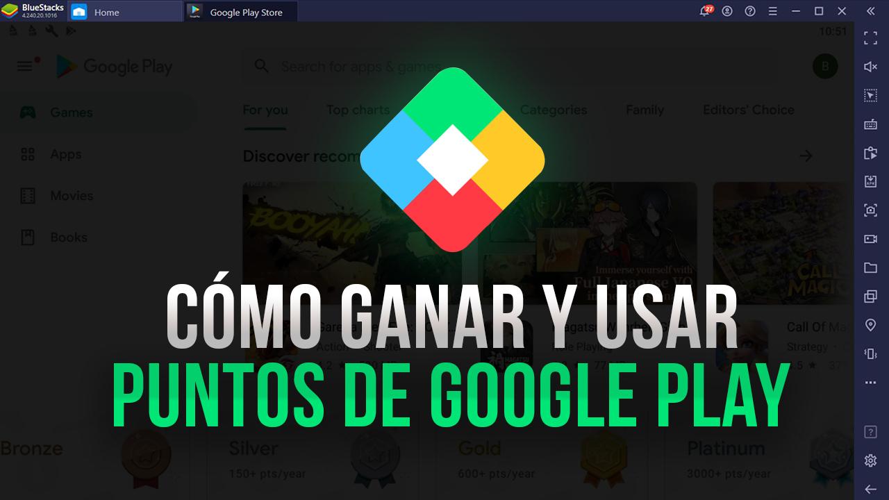 Google Play Points Cómo Obtener E Intercambiar Estos Puntos Por Servicios Gratuitos En Tus Juegos De Android Favoritos Bluestacks
