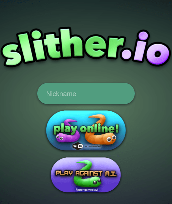 Play slither.io on PC 2
