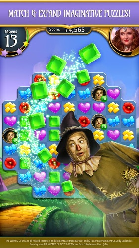 Play Wizard of Oz: Magic Match on PC 7