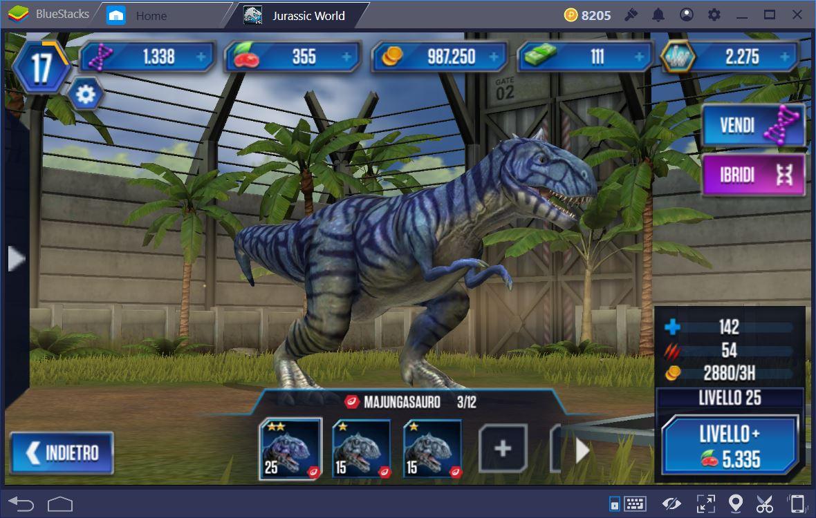 Jurassic World Il Gioco: Trucchi e Consigli