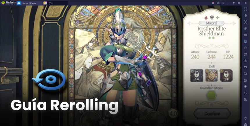 Rerolling en Exos Heroes – Cómo Invocar a los Mejores Personajes del Juego