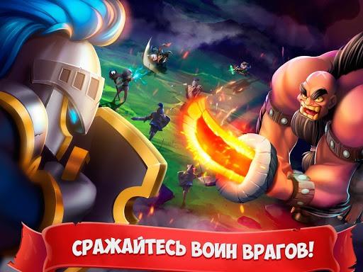 Играй Epic Summoners: Battle Hero Warriors — Action RPG На ПК 7