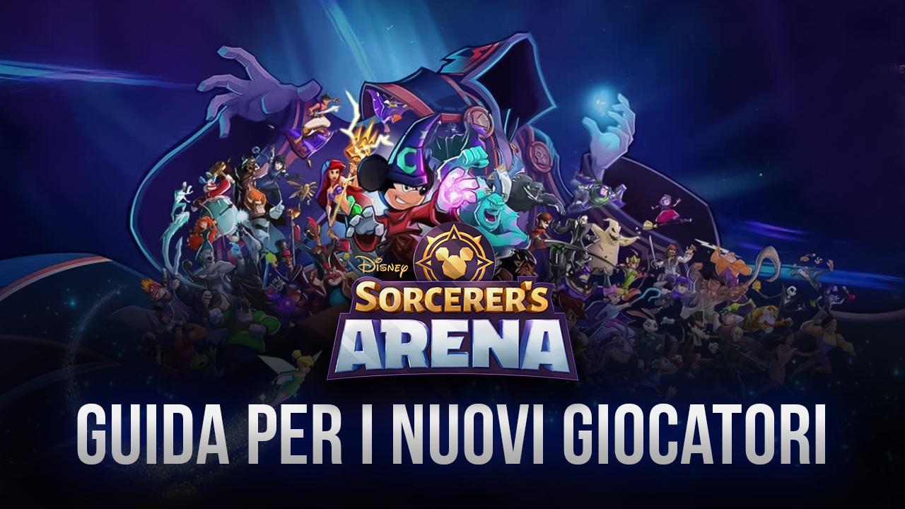 Disney Sorcerer's Arena: come muoversi nell'Arena