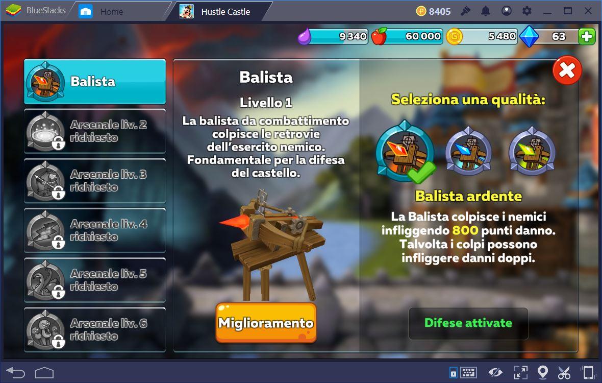 Hustle Castle: Castello Magico Guida al Combattimento