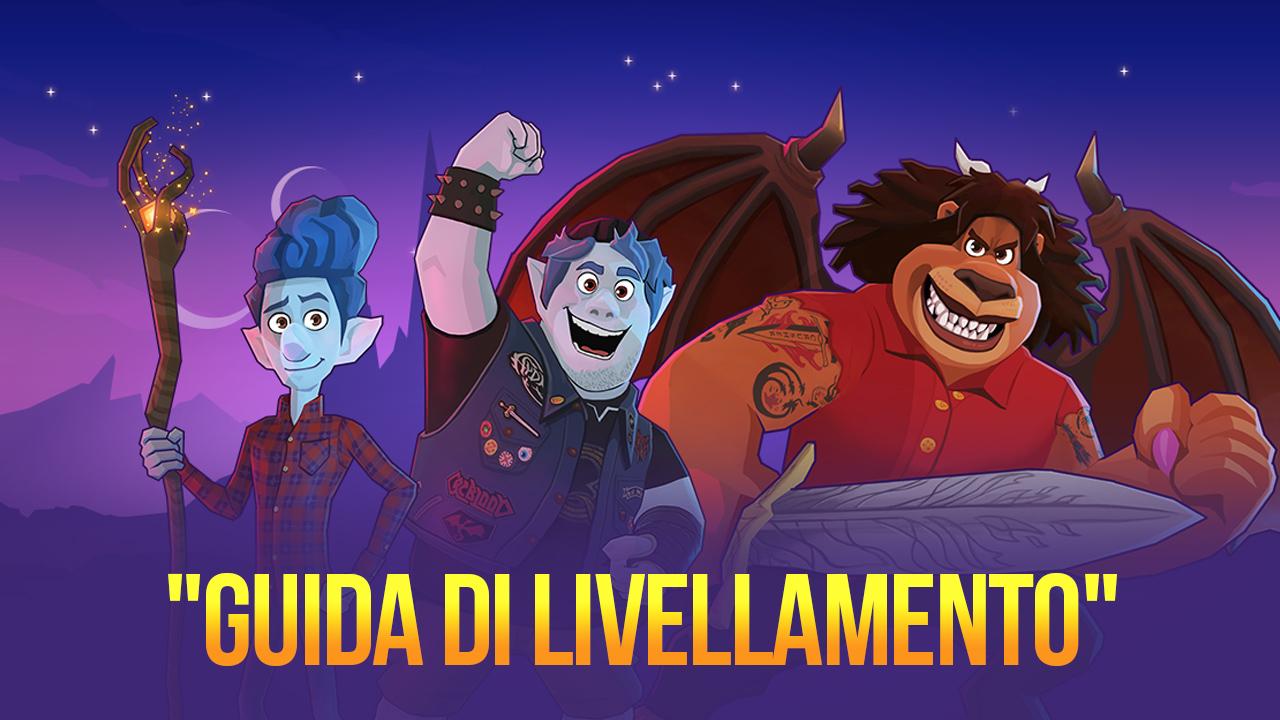 Come potenziare i personaggi in Disney Sorcerer's Arena